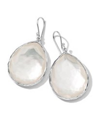 Ippolita Mother Of Pearl Teardrop Earrings Large