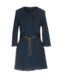 Anne Claire Anneclaire Coats And Jackets Overcoats Slate Blue