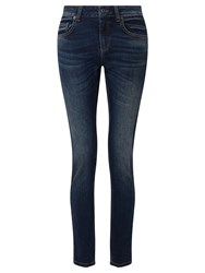 John Lewis Collection Weekend By Drainpipe Jeans Mid Wash Indigo