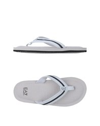 Emporio Armani Ea7 Footwear Thong Sandals Men