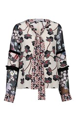 Dorothee Schumacher Nude Recomposed Flora Blouse