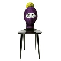 Fornasetti Lux Gstaad Chair Purple