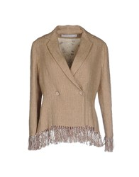 Kristina Ti Suits And Jackets Blazers Women Beige