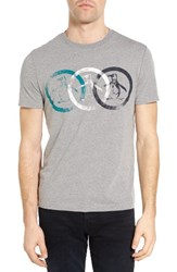 Original Penguin Men's Treble Circle Graphic T Shirt