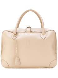 Golden Goose Deluxe Brand Equipage Tote Leather Nude Neutrals