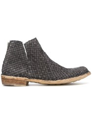 Officine Creative Legrand Boots Grey