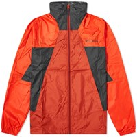 Columbia Point Park Windbreaker Red