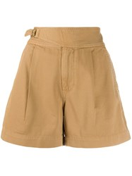 Polo Ralph Lauren Wide Leg Shorts Neutrals