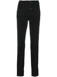 Closed Slim Fit Jeans Cotton Polyester Spandex Elastane Black