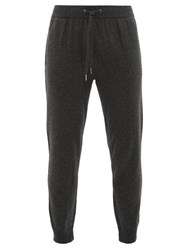 Derek Rose Cashmere Track Pants Grey