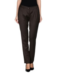 Ajay Trousers Casual Trousers Women Dark Brown
