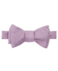 Brooks Brothers Men's Textured To Tie Bow Tie Pink