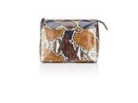 The Row Women's Two For One 12 Python Pouch Nude