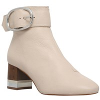 Kg By Kurt Geiger Ringo Ankle Boots Cream