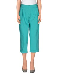 Hanita Trousers 3 4 Length Trousers Women Turquoise
