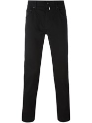 'Hackett X Aston Martin Racing Collaboration' Slim Fit Trousers Black