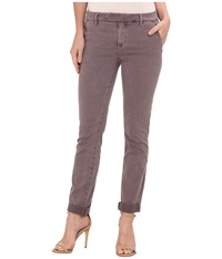 Level 99 Becca Slim Trouser In Ashy Rose Ashy Rose Women's Jeans Brown