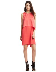 Kenneth Cole Issabelle Two Fer Dress Guava