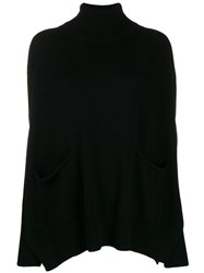 Ma'ry'ya Oversized Sweater Black