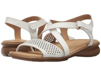 Naturalizer Juniper White Leather Women's Dress Sandals