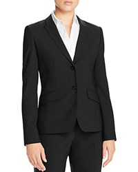 Boss Julea Stretch Wool Blazer Black