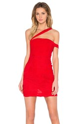 Toby Heart Ginger Serena Strappy Mini Dress Red