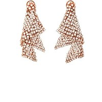 Dauphin Small Fluid Earrings Gold