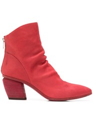 Officine Creative Severine Boots Red