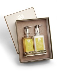Antica Farmacista Grapefruit Hand Wash And Moisturizer Gift Set With Tray