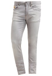 Superdry Slim Fit Jeans Silver Grey Vintage