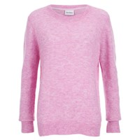 Gestuz Women's Gaby O Neck Jumper Pink