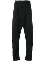 Lost And Found Rooms Relaxed Pants Cotton Spandex Elastane Black