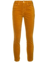 L'agence Cropped Jeans Yellow