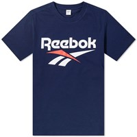 Reebok Cl F Vector Tee Blue