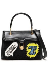 Olympia Le Tan Embellished Leather Tote Black