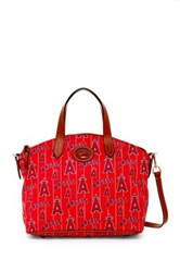 Dooney And Bourke Angels Small Gabriella Red