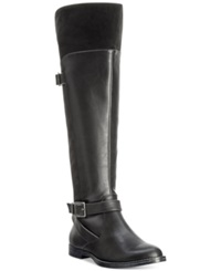 Bella Vita Romy Ii Riding Boots Women's Shoes Black Suede