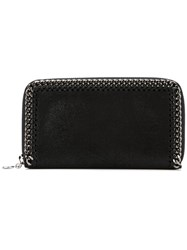 Stella Mccartney 'Falabella' Grailed Wallet Black