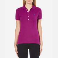 Polo Ralph Lauren Women's Julie Shirt Bright Magenta Pink