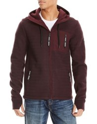 Bench Knitted Drawstring Hoodie Night Sky