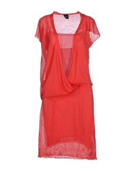 Gotha Dresses 3 4 Length Dresses Women Red