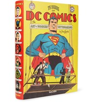 Taschen 75 Years Of Dc Comics The Art Of Modern Mythmaking Hardcover Book Yellow