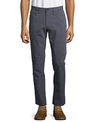 Kenneth Cole Twill Slim Fit Pants Inkwell