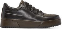 3.1 Phillip Lim Black Leather Pl31 Sneakers