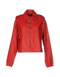 Club Des Sports Jackets Brick Red