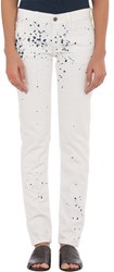 Simon Miller Women's Park View Classic Fit Jeans White