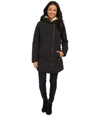 Roxy Night Out Hooded Coat True Black Women's Coat