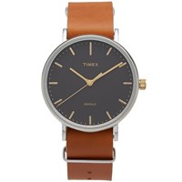 Timex Weekender Fairfield 41Mm Watch Brown