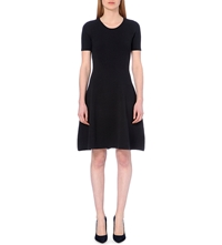 Hugo Boss Fleala Knit Dress Navy