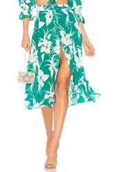 Majorelle Sunday Skirt Green